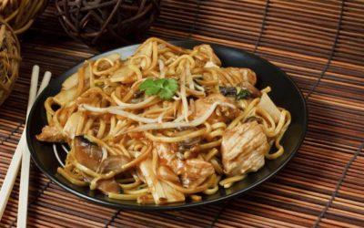 Cladan Recetas: Cómo hacer chow mein de pollo