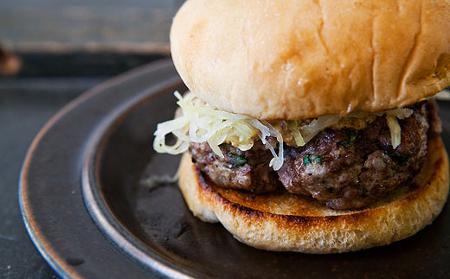 Receta de hamburguesas de carne de cerdo