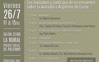 Encuentro sobre la Avicultura Argentina – Desde el campo hasta la mesa