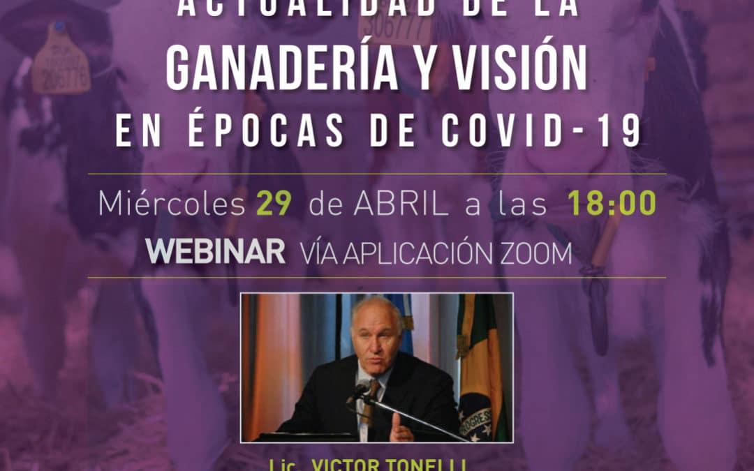 """Te invitamos al próximo Webinar de Cladan – """"Actualidad de la Ganadería y visión en épocas de Covid-19"""""""