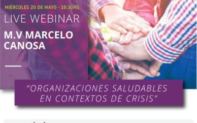 Nuevo webinar de Cladan: Organizaciones saludables en contextos de crisis